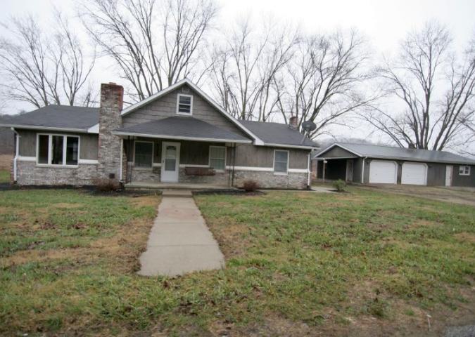 Exterior Home & Garage