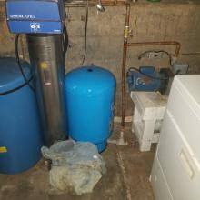 Water Softner and well and tank
