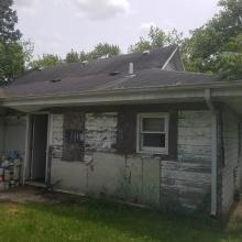 Side view of home