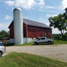 Outbuilding 1-Barn and Silo
